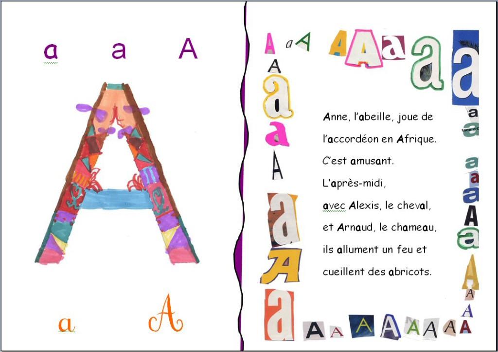 Imagier CP_lettre A_école JMermoz