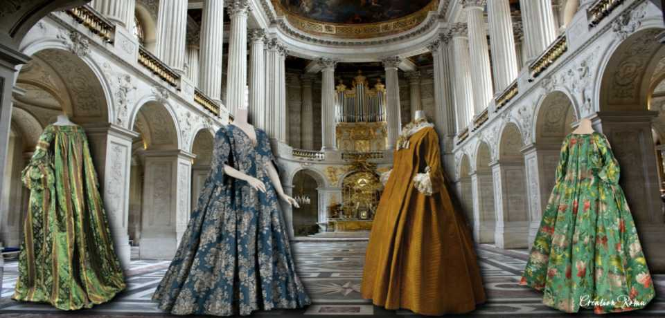 3 Robes volantes_1715-1740