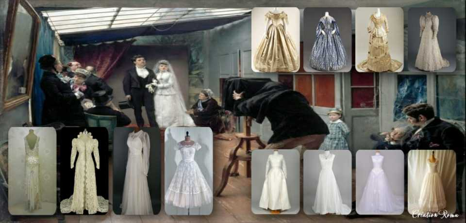 3 robe mariée évolution XXe