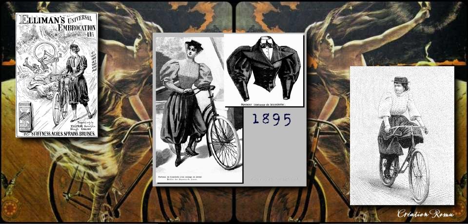 4 Culotte zouave bicyclette femme