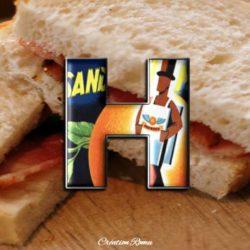 H pour homme-sandwich